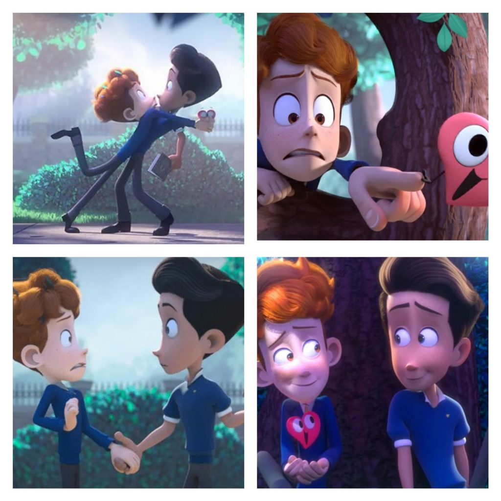 In a heartbeat Gay short film