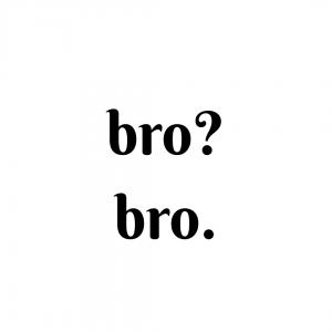 bro culture